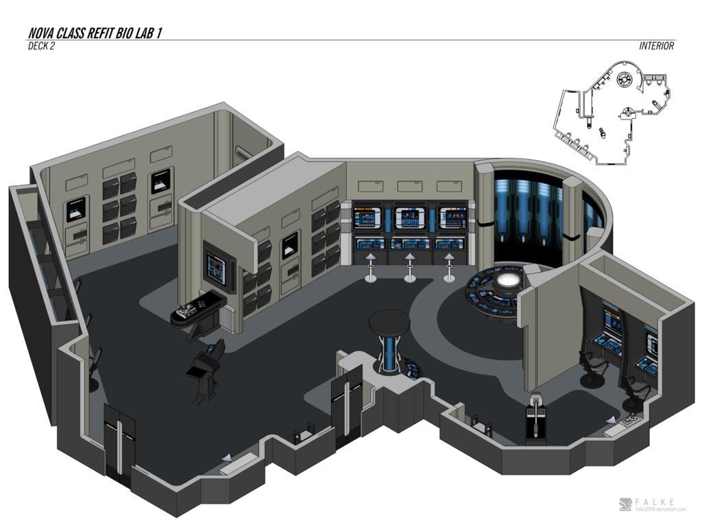 USS Thames :: Tour - Science Laboratories